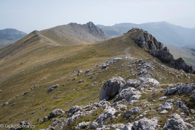 La cresta di Monte Bolza
