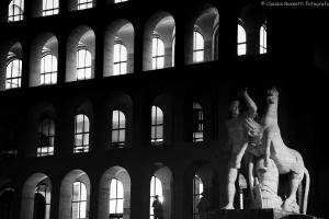 il quartiere EUR a Roma