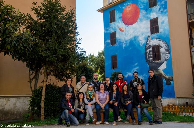 foto di gruppo a tor marancia