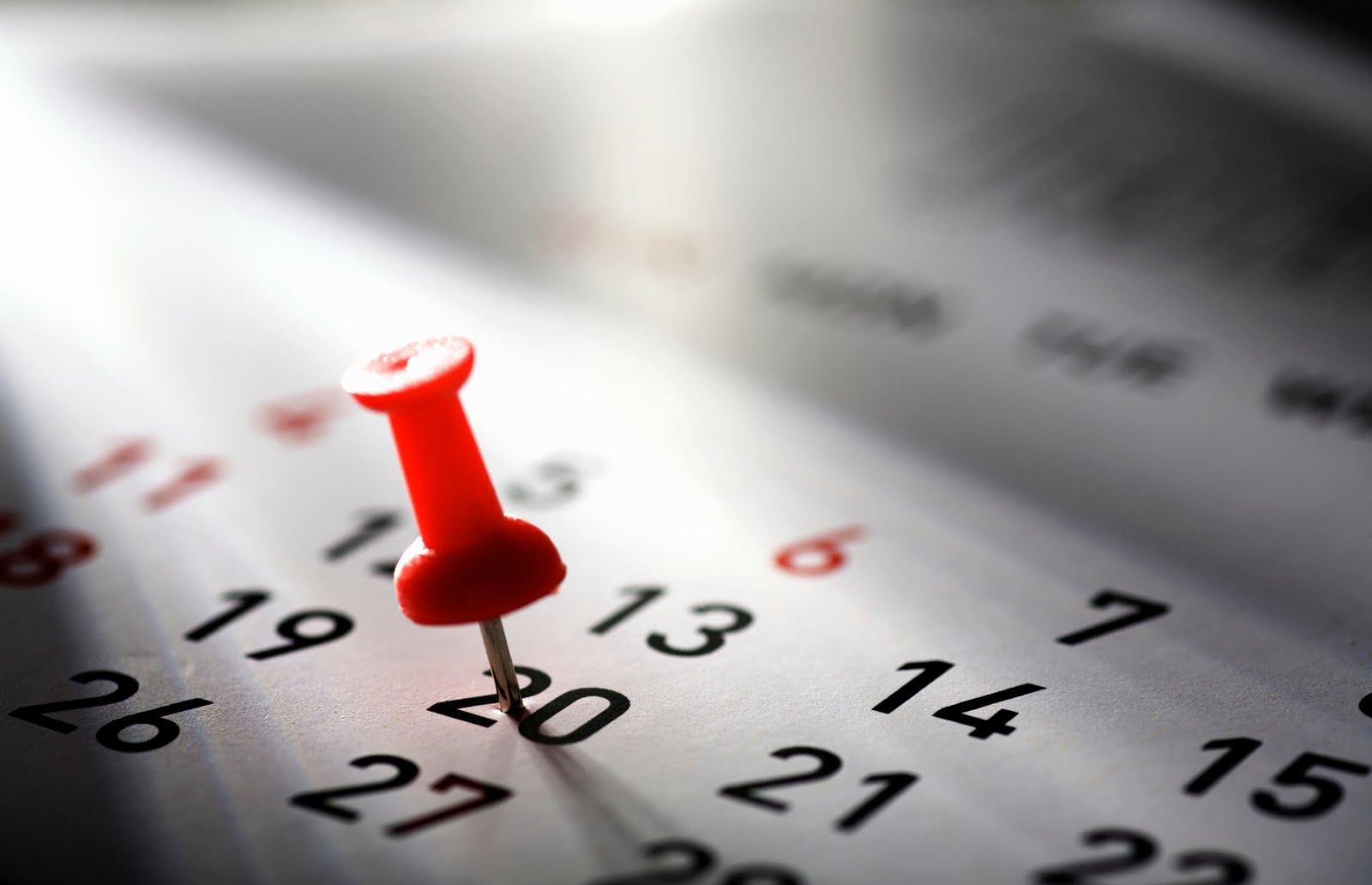 calendario attività grigio18