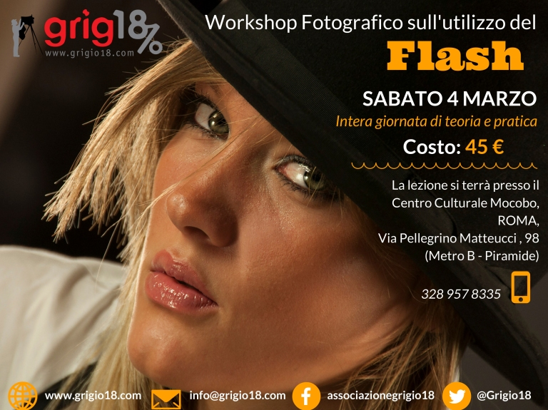 Workshop Fotografico sull'utilizzodel